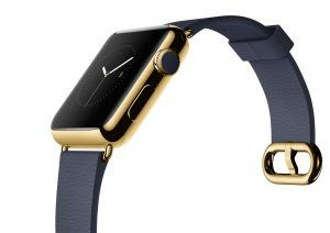 Apple Watch i 18 karat guld