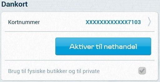 MobilePay kan aktiveres til brug i netbutikker (Foto: MereMobil.dk)