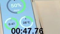 Web-TV: En modificeret Galaxy S5 bliver her oplades på under to minutter. Ny teknologi baner vejen for lynopladning af vores telefoner.