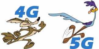 5G vs 4G - thetlecomblog