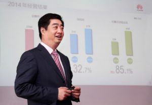 Huawei CEO, Ken Hu