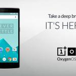 OnePlus One OxygenOS