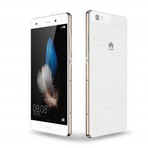 Huawei P8 Lite i hvid