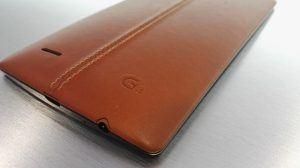 LG G4 i brun læder