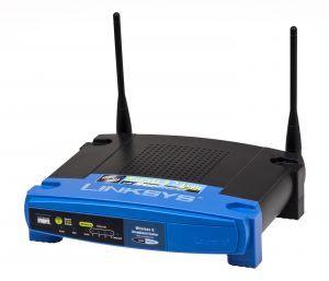 Linksys trådløs router