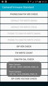 S6 Edge kamerasensor info