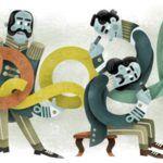 Doodle Google tegnet af Mette Ehlers