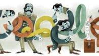 Googles logo, udført som en såkaldt Doodle, har prydet søgemaskinen i dag. For første gang har en dansker tegnet logoet.