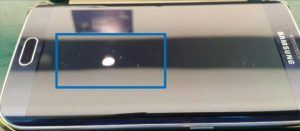Galaxy S6 ridser Clear View dækket