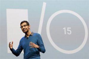 Sundar Pichai, Google I/O 2015