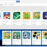Google Play familiesektion på PC