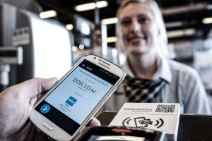 MobilePay i Bilka (Foto: Claus Sjödin)