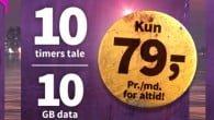 Priserne har fået endnu et hak nedad. Oister sparker igen ud efter mobilpakkerne. Mon konkurrenterne følger med ned?