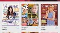 Læs ugeblade og magasiner på mobil og tablet. Aller er klar med en digital platform til deres udgivelser.