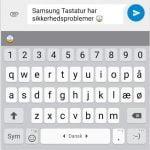 Samsung Tastatur by SwiftKey