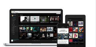 Tidal musikstreaming-tjeneste