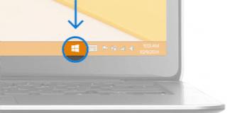 Ikonet til reservation af Windows 10