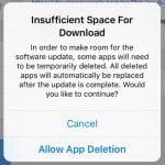 iOS 9 automatisk sletning af apps