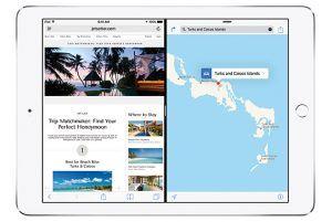 Multitasking på iPad med iOS 9