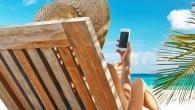 En europæisk undersøgelse over mobilbruget i udlandet viser, at danskerne er med i front. Og vil ikke undvære mobilen på rejsen.