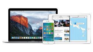 iOS 9 og OS X El Capitan