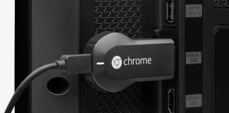 Chromecast i TV