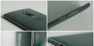 OnePlus 2 - bagside, knapper, ladestik og højtaler