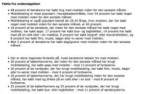 Resultat fra undersøgelsen. Undersøgelsen er foretaget gennem Epinions Danmarkspanel i perioden fra den 5. maj til 15. maj 2015. I alt 2.003 personer har deltaget.