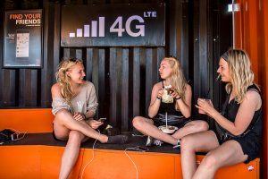 Smartphonebrug på Roskilde Festival 2015