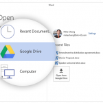 Google Drev plugin til Microsoft Office