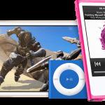 iPod Touch, iPod Nano og iPod Shuffle (Foto: Apple)