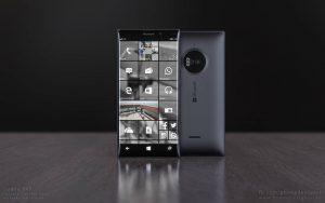 Koncept-mockup af Lumia 940 (Kilde: Wmpoweruser.com)