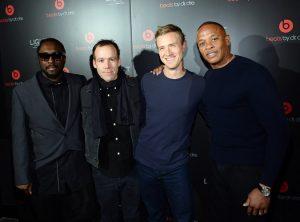 Nogle af folkene bag Apple Music (kilde: New York Times)
