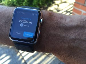 Apple Watch MobilePay