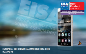 EISA 2015 Huawei P8