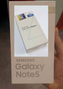 Samsung Galaxy Note 5 og Note 4