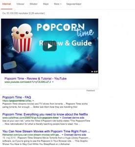 Popcorn Time screenshot how to