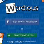 Screenshots fra Wordious
