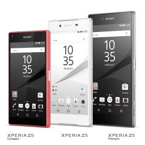 Sony Xperia Z5-serien (Foto: Sony)