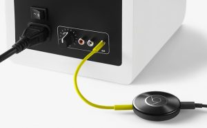 Chromecast Audio tilslutning