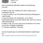 Opdatering til iOS 9.0.2