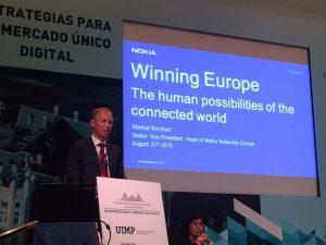 Markus Borchert, Senior Vice President, Market Europe, at Nokia Networks (Kilde: Nokia Networks)
