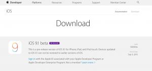 iOS 9.1 beta er frigivet til udviklerne