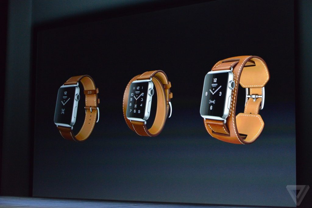 Apple Watch nye modeller (Foto: The Verge)