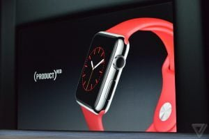 Apple Watch nye modeller (Foto: The Verge)