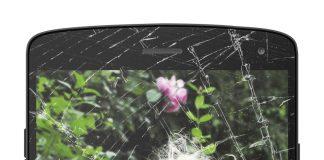 defekt smartphone skærm reparation