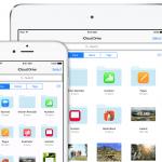 iCloud Drive på iPHone og iPad