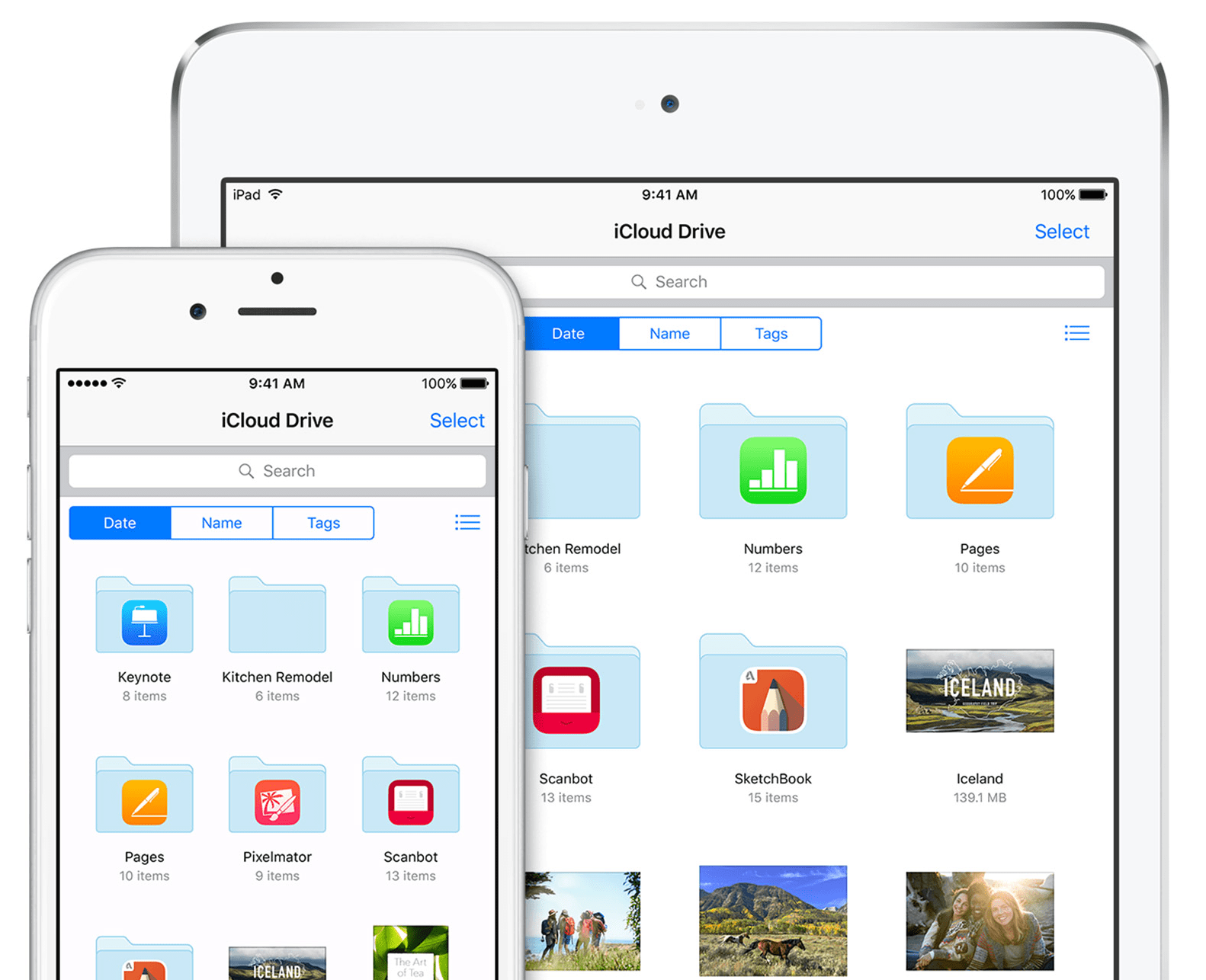 how to get to icloud drive on iphone