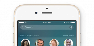 Proactive Assistant i iOS 9
