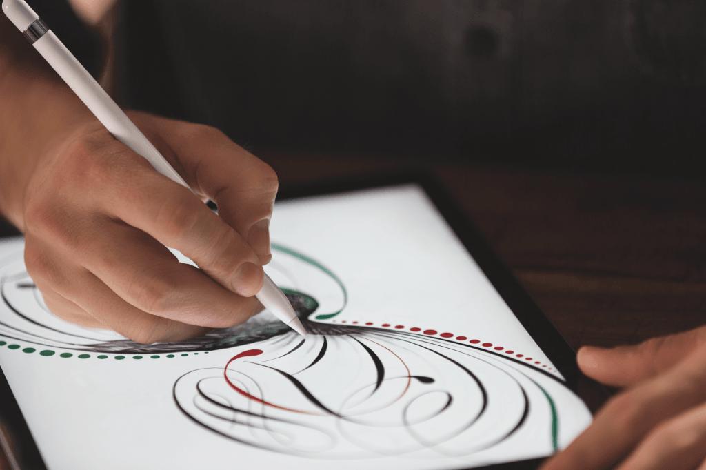 iPad Pro med Apple Pencil